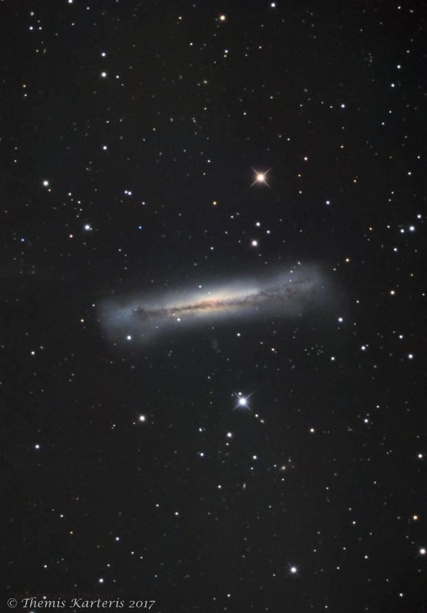 NGC 3628 LRGB,                                Themis Karteris