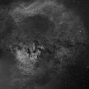 NGC 7822 9 panel Ha mosaic,                                Goofi