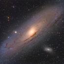 M31 - The Andromeda Galaxy - LRGB,                                Roberto Botero