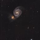 Whirlpool Galaxy,                                Onur Atilgan