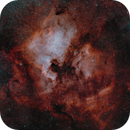 North America and Pelican Nebula (FRA400 x0.7, Nikon Z6 mod),                                tjm8874