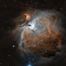 M42 in HaOIII,                                James Ross