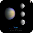 Venus Blue-Violet-UV as RGB with mouse over for the visible light image,                                Niall MacNeill