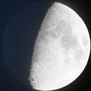 Double Exposure Of Moon,                                Caleb Melton