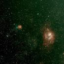 M20 (Trifide) M8 (Lagune),                                Benoit leguet