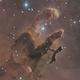 Pillars Of Creation in Messier 16/The Eagle Nebula,                                Giuseppe Donatiello