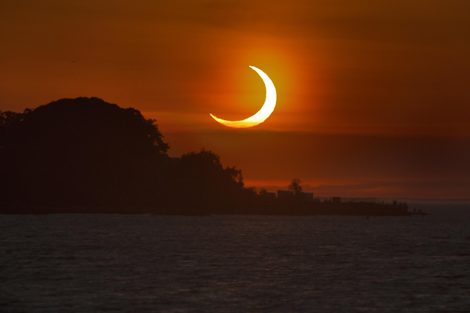Partial Solar Eclipse 2021 June 10,                                Benjamin Law
