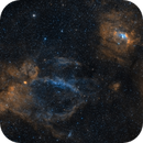 The Lobster Claw and Bubble Nebulae,                                Alex Roberts