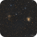 Fireworks Galaxy and NGC 6939 Open Cluster,                                Damien Cannane