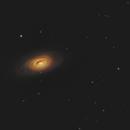 M64, Black Eye Galaxy,                                rveregin