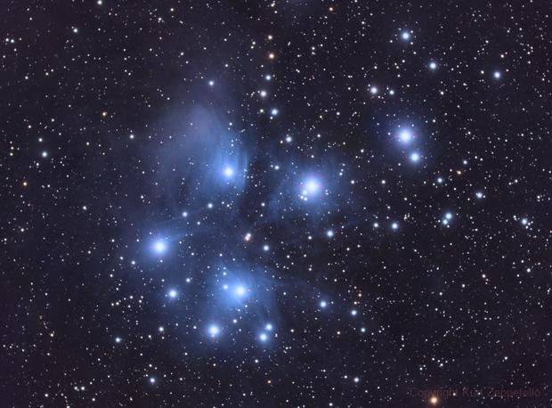 Pleiades-2019 (w/ using the ED80),                                Kurt Zeppetello
