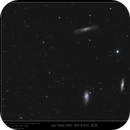 Leo Triplet (M65, M66 & NGC 3628),                                Mike Oates