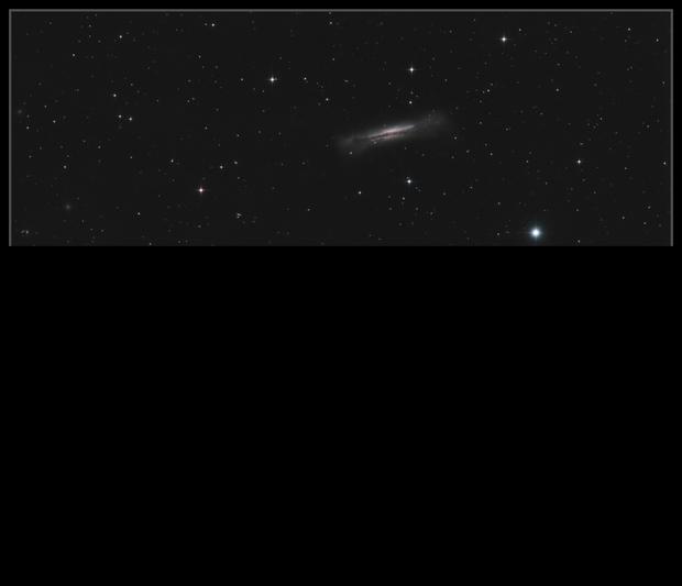 Leo Triplet (M65, M66 & NGC 3628),                                Mike Oates