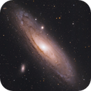 Andromeda Galaxy from our Campsite,                                Trevor Jones