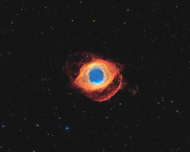The Eye of God - The Helix Nebula,                                Connor Matherne