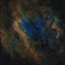 Sh2-119 & OU5 - The Clamshell Nebula in Cygnus - SHO,                                Daniel.P