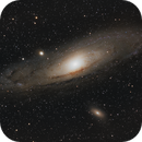 M31 LRGB this time using the drizzle integration files.,                                William Jordan
