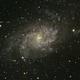 M33 The triangulum galaxy,                                Peter Retzer