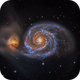 The Whirlpool Galaxy - Messier 51,                                Connor Matherne