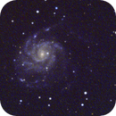 M101 in LRGB,                                sletmoep