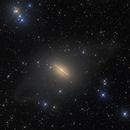 Messier 104 Sombrero Galaxy,                                SkyPi Remote Observatory