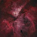 Carina Nebula - RGBHa,                                Yann-Eric BOYEAU