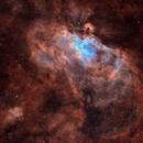The Eagle Nebula (M16) in SHO (2021),                                Harry Zampetoulas