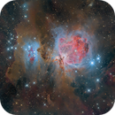 Great Orion nebula,                                Michele Trungadi