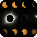 Great American Eclipse of 2017 Composite,                                JD