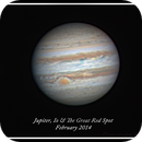 Jupiter, Io and the Great Red Spot,                                Stephen Jennette