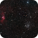 The bubble and M52,                                Steffen