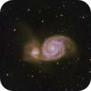 M51 - Whirpool Galaxy - An evening with Celestron RASA,                                Ray's Astrophotog...