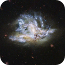 Reprocessing of NGC 6052 from Hubble's data,                                Benoit Blanco