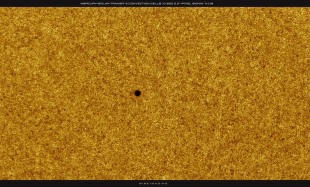 Mercury-Solar Transit & Convection Cells, High Res, 11-11-2019,                                Martin (Marty) Wise