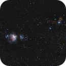 Orion belt and nebulaes,                                Lukasz Socha