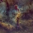 IC 1396A - Elephant's Trunk Nebula,                                nerdybeardo
