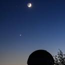 Conjunction: Moon - Venus -Jupiter,                                C.A.L. - Astroburgos