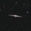 NGC 4565 Galaxt,                                Luca Fornaciari