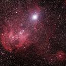 Caldwell 100 - Gum 39/40/41/42 - Running Chicken or Lamda Centauri Nebula in Centaurus,                                Geoff Scott