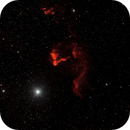 The Ghost of Cassiopeia (IC 63) in HOO,                                John Kroon