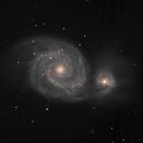 M51_Whirlpool Galaxy_LNIR,G,B,                                Didier FOURNIL