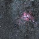 Carina Nebula on 135mm,                                Samuel Müller
