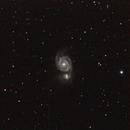 A look at M51 - Single frame,                                Vítor de Oliveira Silva