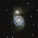 M51 Whirlpool Galaxy,                                Roland Schliessus