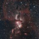 Statue of Liberty nebula,                                Filip Krstevski / Филип Крстевски