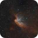 NGC7380 / SH2-142 - The Wizard - Modern Hubble,                                Axel