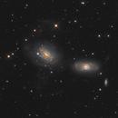 NGC3169 / NGC3166 Duo,                                Patrick Dufour