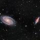 M81 & M82,                                HixonJames