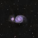 Whirlpool galaxy,                                Olivier Meersman
