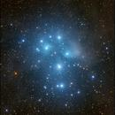 Messier45 - Data Courtesy of Deep Sky West/Lloyd Smith,                                Sigga